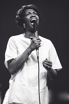 Cissy Houston, ca. 1975