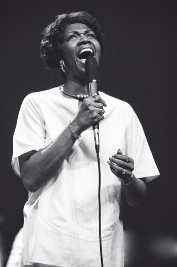 = Cissy Houston Eastman Theater circa 1975