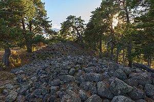 Adelsö - Skansberget fornborg