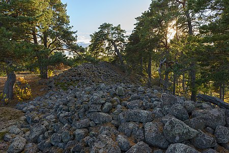 Fort hill Skansberget