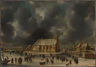 Skating at Sloten, near Amsterdam