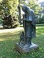 Skulptur, Schäfer mit Hund, Wettsteinpark, Riehen von Otto Roos (1887–1945) 2.jpg