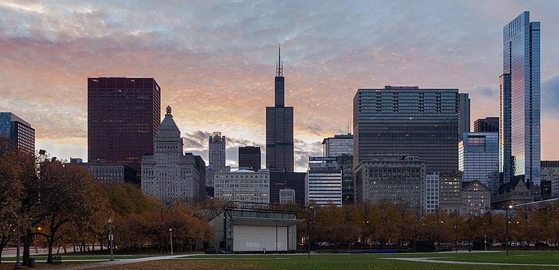 File:Skyline de Chicago desde el centro, Illinois, Estados Unidos, 2012-10-20, DD 06.jpg
