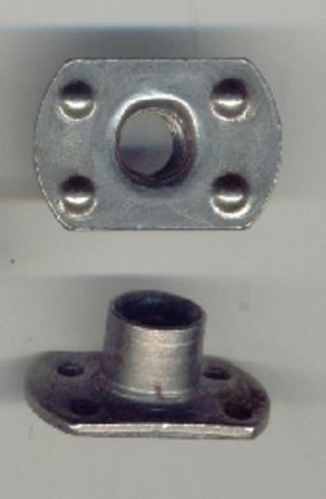 Weld nut - Slab base weld nut