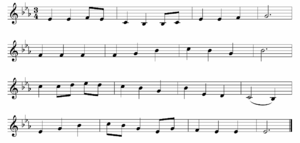 """Be Thou My Vision - The musical composition, """"Slane"""""""