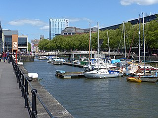 Bristol Harbour Harbour in Bristol, England