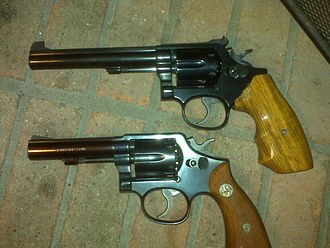 Smith & Wesson Model 14 - Image: Smith & Wesson Models 10 and 14