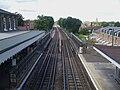Snaresbrook station high northbound.JPG
