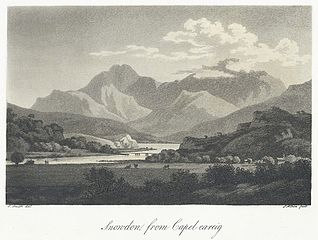 Snowdon from Capel careig