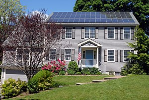 Photovoltaic system - Solar rooftop system in Boston, United States