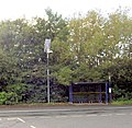 Solar powered light to bus shelter. - geograph.org.uk - 524225.jpg