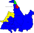 Solihull 2008 election map.png