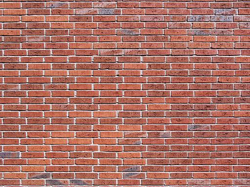 Solna Brick wall Stretcher bond variation1