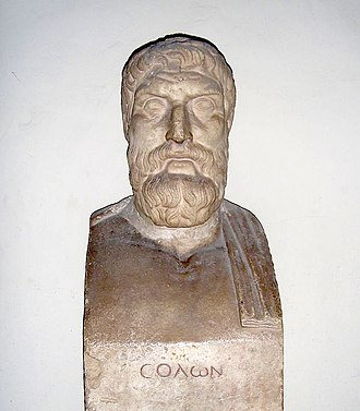 Archaic Greece - Solon, an archaic lawgiver and poet who reformed the Athenian constitution at the beginning of the sixth century BC.