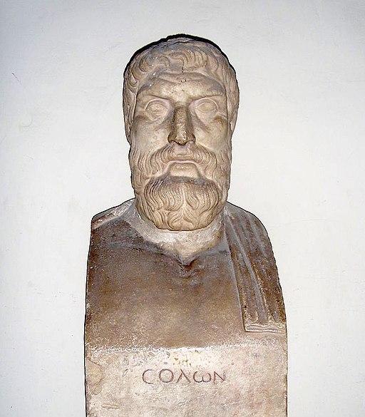 Solon in Vatican Museums