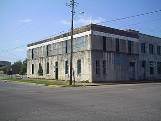 Soulé Steam Feed Works - 1907 annex, which contained an assembly room upstairs and a blacksmith shop downstairs