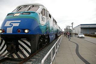 South Tacoma station Commuter train station in Tacoma, Washington