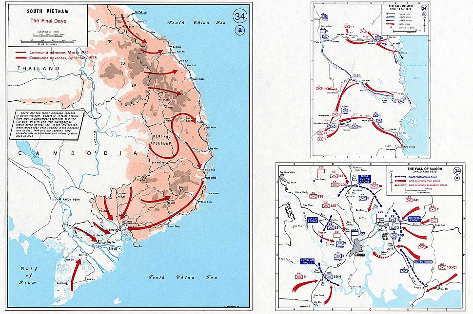 South Vietnam - The final days 1975