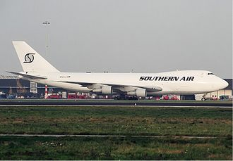 Southern Air Transport - Image: Southern Air Transport Boeing 747 200 Spijkers