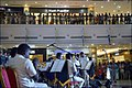 Southern Naval Command band performs at Lulu Mall, Kochi, 2017 (3).jpg