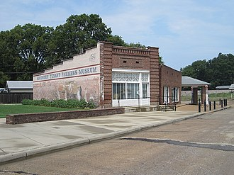 Tyronza, Arkansas - Southern Tenant Farmers Museum, August 2011