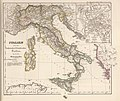 Southern part of the Holy Roman Empire - Italy under the Saxon and Salian dynasties until the rise of the Hohenstaufen dynasty, 962–1137 (Spruner, 1854).jpg
