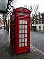 Southernmost Of Pair Of K2 Telephone Kiosks Next To Sadler'S Wells.jpg