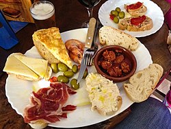 Food from spain famous