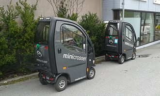 Battery electric vehicle - Electric vehicles for disabled people in Årdalstangen, Norway