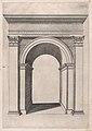 Speculum Romanae Magnificentiae- Arch of Gallienus MET DP870260.jpg