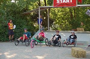 Hase Spezialräder - Image: Spezialradmesse 2007 Start Trikerennen
