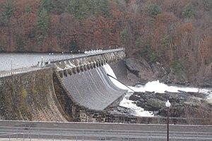 Spier Falls Dam - Spier Falls Dam in 2013