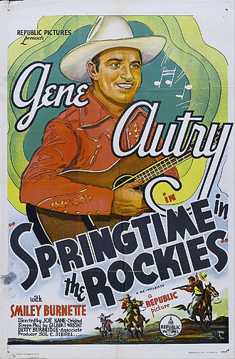 Springtime in the Rockies (1937 film) - Image: Springtime in the Rockies 1937 Poster