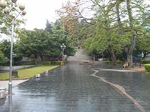 Gongcheng Yao Autonomous County - Image: Square of Gong`cheng county