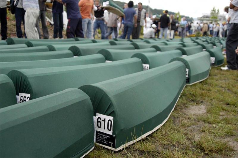 Srebrenica 2005 burial