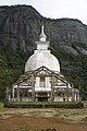 Sri Lanka, Buddhist stupa at the foot of Sri Pada.jpg