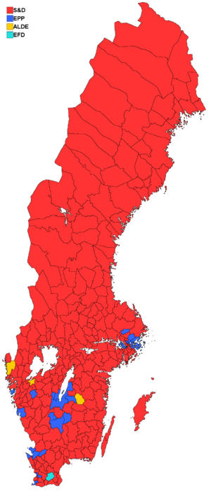 Results by municipality