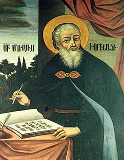 Movses Khorenatsi Armenian historian