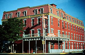 Das St. Cloud Hotel steht seit 1888 in Cañon Citys National Historic District