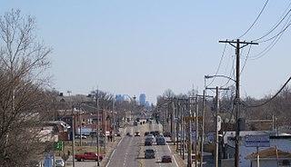 Pagedale, Missouri City in Missouri, United States