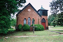 St. Clement's Episcopal Church, Vaiden, organized 1859