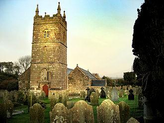 St Endellion - Image: St Endellion Church by Ben Nicholson