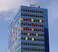 St George's Tower, Leicester from the railway station 01.jpg
