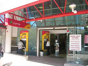 St.George Bank - St.George Bank branch in Chatswood, Sydney, 6 April 2005.