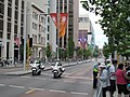 St Georges Terrace security area (CHOGM 2011) 01.jpg