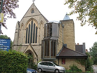 St Lukes Church, Kew Church in Richmond , United Kingdom