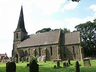 Amcotts village in the United Kingdom