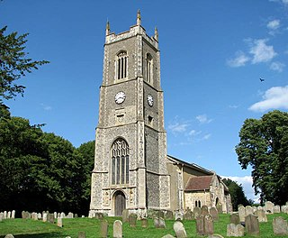 Ditchingham village and civil parish in Norfolk