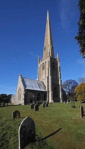"Snettisham - St Mary's:""perhaps the most exciting decorated church in Norfolk"""