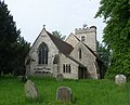 St Mary the Virgin's Church, Worplesdon Road, Worplesdon (May 2014) (2).JPG